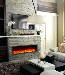 electric wall fireplace ideas installation heater reviews m l f