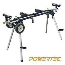 ridgid miter saw table. powertec mt4000 deluxe miter saw stand with wheels and 110v power outlet new ridgid table