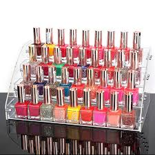 Mac Lipstick Display Stand Amazing Mordoa Acrylic Clear 32 Tiers Nail Polish Rack Makeup Organizer