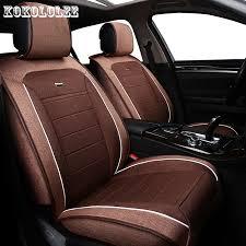 kokololee auto universal cubierta de asiento de coche de lino para bmw e30 e39 e36 e34 e46 e60 e90 f10 f30 x5 x3 x2 x1 f11 automóviles accessorie