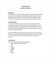 Sample Audit Program Enchanting 48 Audit Plan Examples Samples