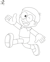 Wonder woman dc superhero girls coloring page. Nobita Coloring Pages Free Printable Coloring Pages For Kids