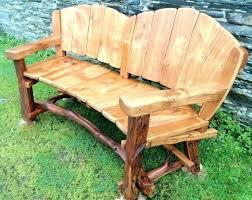 rustic wooden outdoor furniture. Garden Wooden Bench Outdoor Outside Benches Plans Furniture Rustic C