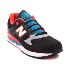 new balance shoes red and blue. new balance 530 athletic shoe black/red/blue / mens shoes w34j7375 - red and blue c