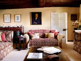 Period Living Room Blue Georgian Drawing Room Period Living