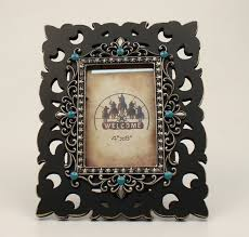 m f wooden filigree picture frame 4x6