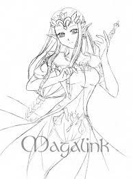Imprimer Personnages C L Bres Nintendo Zelda Num Ro Coloriage Princesse Zelda L