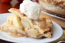 apple pie slice with whipped cream. Interesting With Best Ever Apple Pie Recipe And For A Double Crust To Slice With Whipped Cream A