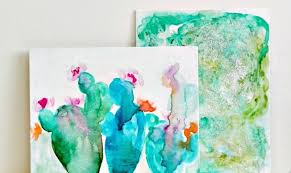 perhaps you look at an abstract painting and think um my 5 year old could paint that and then you sit down with a blank canvas and immediately regret