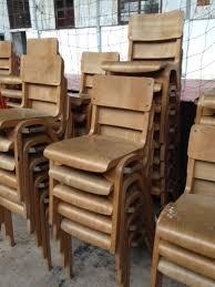 Sold 91x Wooden Chairs - Harpenden, Herts