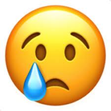 Crying Face Emoji U 1f622