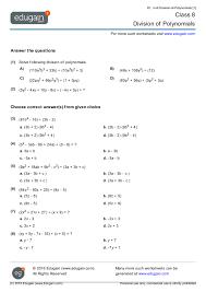 contents division of polynomials