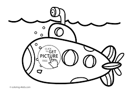 Small Picture Transportation Coloring Pages For Kids Printable Free At Submarine