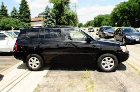 2001 Toyota Highlander Black AWD Used SUV Sale
