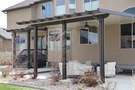 patio covers utah. Simple Covers Highland Utah U2013 Insulated Patio Cover With Corbel Rafter Tails Throughout Covers I