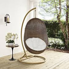 hanging wicker chair shapes