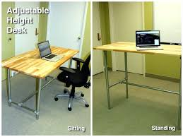 desk adjule height sitting and standing desk ideal desk height calculator ideal desk height ergonomics