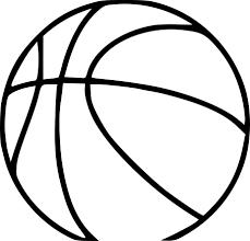 Coloriage D Un Ballon De Basketball Imprimer Sur Coloriage De Com