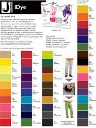 Idye Poly Color Mixing Chart Idye Information The Dye Shop