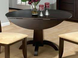 round table alamo round drop leaf dining table and chairs kitchen for small idea throughout plans