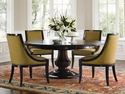 dining room sets round table rustic wood chair padded seat ideas natural expanding design upholstered chairs