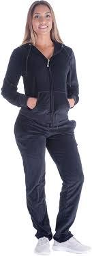 Womens Designer Sweat Suits Velour Tracksuit Womens 2 Pieces Joggers Outfits Jogging Sweatsuits Set Soft Sports Sweat Suits Pants
