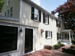 exterior homescapes. newburyport, ma james hardie siding with colorplus in sail cloth traditional-exterior exterior homescapes