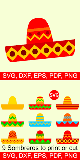 Polish your personal project or design with these fiesta banner transparent png images, make it even more personalized and more attractive. Sombreros Svg Files For Cinco De Mayo Printable Clipart And Svg File For Silhouette And Cricut With Images Svg Sombrero Cinco De Mayo