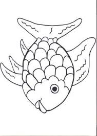 free rainbow fish template pdf 2 page s page 2 of coloring page fish coloring pages