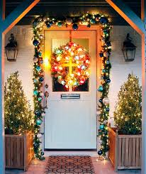 christmas front door decorationsChristmas Decorations Front Door Ideas  Home Design