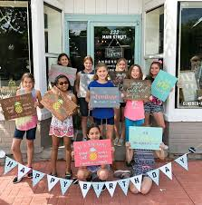 a crafty tween birthday party at ar work