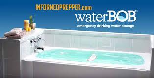 waterbob bathtub water storage