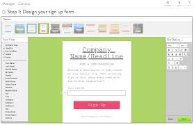 email list signup form how to use sign up forms to grow your email list verticalresponse