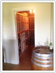 walk in closet wine cellar