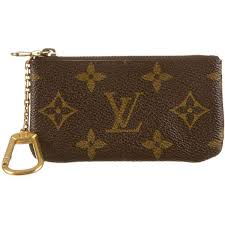 louis vuitton zip purse. pre-owned louis vuitton key pouch ($145) ❤ liked on polyvore featuring bags zip purse 0