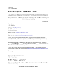 sample agreement letters agreement to pay letter 20 best of sample agreement letter to pay
