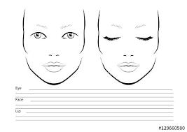 Blank Face Template Supremecarpetcleaningnyc Com