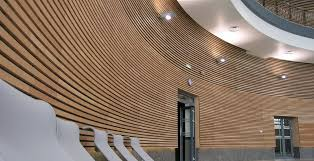 linea slatted timber wall ceiling acoustic panels