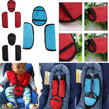 baby pushchair pram safety car seat belt strap shoulder pads cover harness pad 1 of 5only 5 available