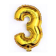 40 giant 3 two gold mylar number letter balloons birthday big balloon party wedding centerpieces table decoration events 0 0 width=720&height=960