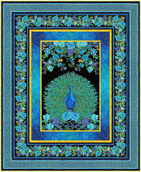 Panel Quilt Patterns Classy Free Pattern Enchanted Plumes EQuilter BlogeQuilter Blog