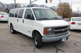 CNG Utah - 2001 Chevrolet Express 2500 12 Passenger Van - Bi-Fuel
