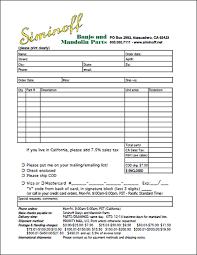 Off-Line Order Form | Siminoff Banjo & Mandolin Parts