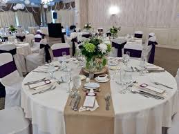 round table runner wedding burlap for home design ideas intended gift