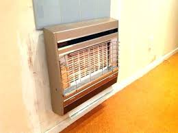 gas wall heaters mount natural heater mounted remove an old canada