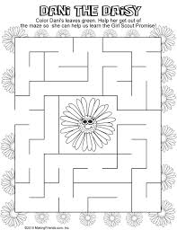 Small Picture 143 best Coloring Pages images on Pinterest Girl scout daisies