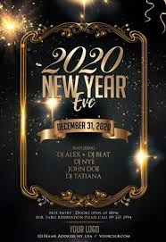new year s template new year eve 2020 free flyer template freebie freepsdflyer