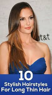 Hair Style For Long Thin Hair 10 hairstyles for long thin hair 6277 by wearticles.com