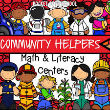Our Community Helpers Chart Community Helpers Activities And Centers For Preschool And