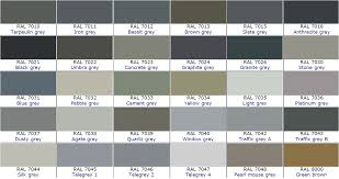 Graphite Grey Colour Chart Ral Colour Chart Grey Bedowntowndaytona Com